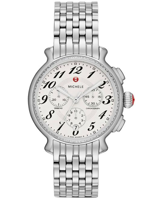 Michele Ladies Fluette Diamond 38mm