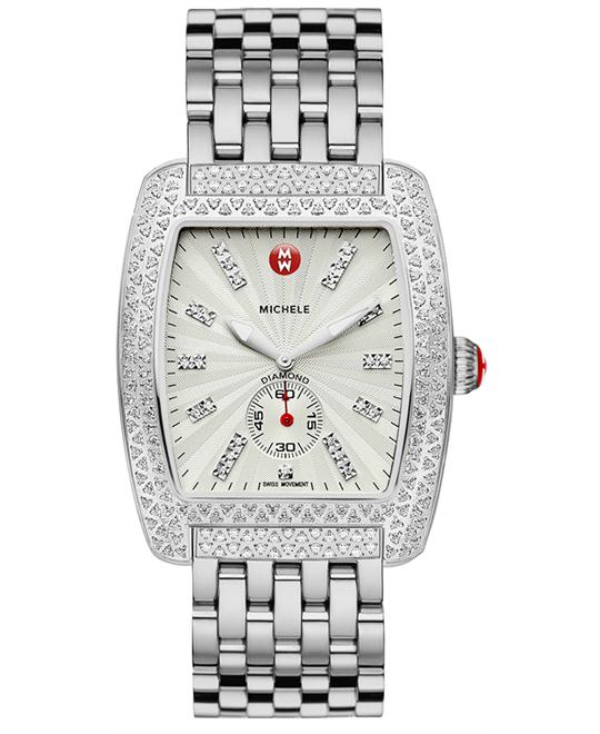 Michele Urban Ladies Stainless Polished 36mm X 37mm