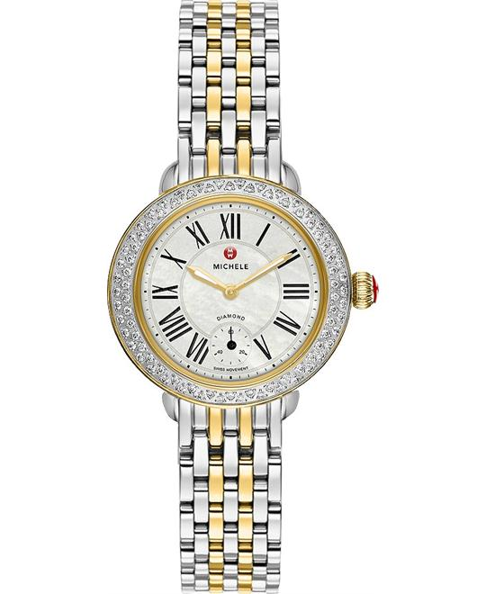 Michele Serein 12 Ladies Watch 28mm X 27.5mm