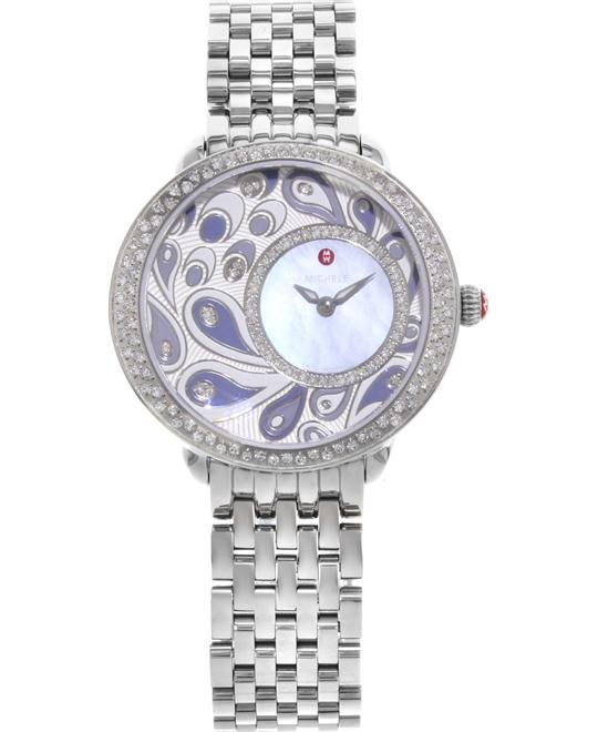 Michele  SEREIN 16 DIAMOND PEACOCK 36MM