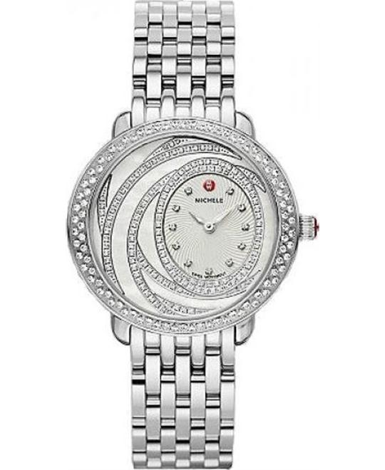 đồng hồ MICHELE Serein 16 Extreme Diamond Watch 34x36mm