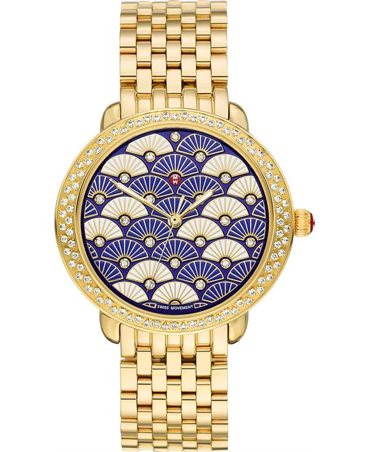 đồng hồ Michele Serein 59CTTW Diamond Ladies Watch 36*34mm