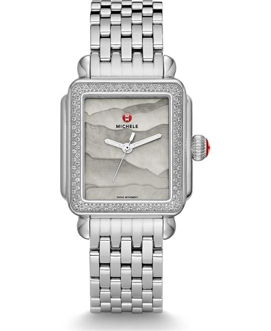 Michile Deco Diamond Grey Gradient Watch 33*35mm