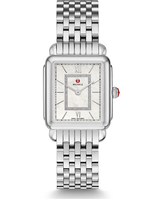 Michile Deco II Mid Diamond Watch 26*27mm