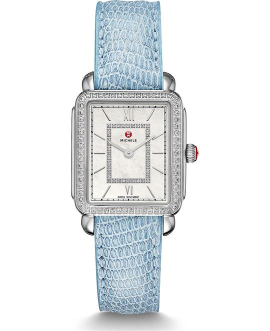 đồng hồ Michile Deco II Mid-size Diamond Lizard Watch 26*27.5mm