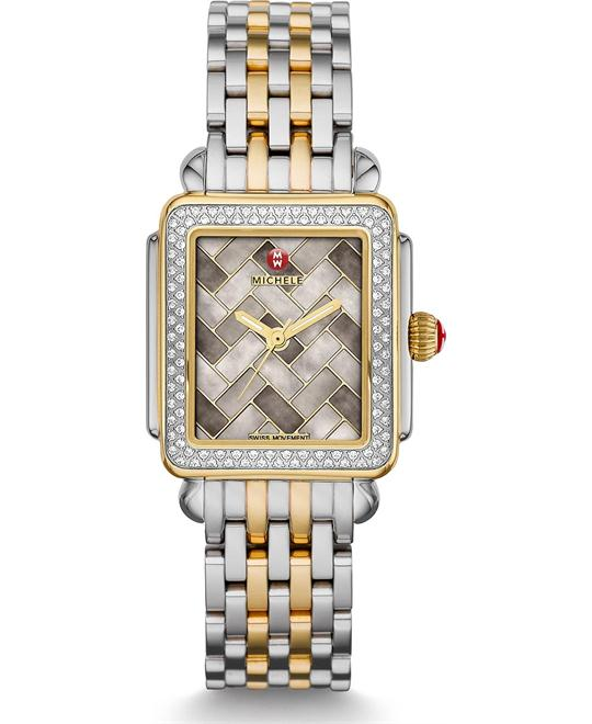 Michile Deco Mid Diamond Cocoa Mosaic 29*31mm