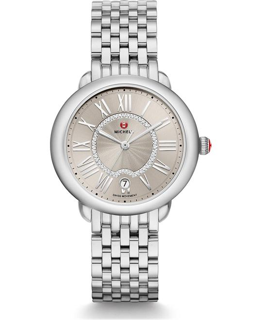 Michile Serein Mid Cashmere Diamond Watch 36*34mm