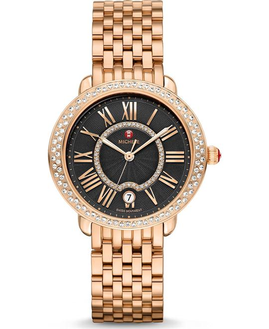 Michile Serein Mid Diamond Black Watch 36*34mm