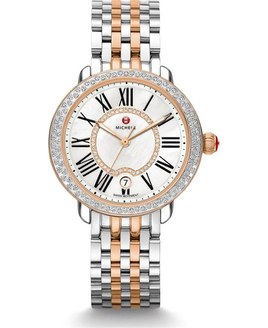 Michile Serein Mid Diamond Watch 36*34mm