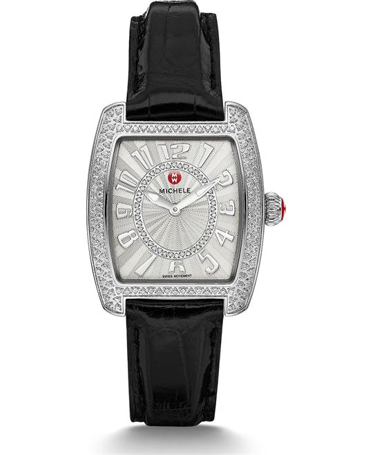 đồng hồ Michile Urban Mini Diamond Black Watch 29*31mm