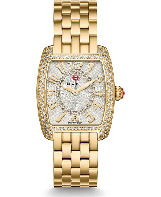 Michile Urban Mini Diamond Gold Watch 29*31mm