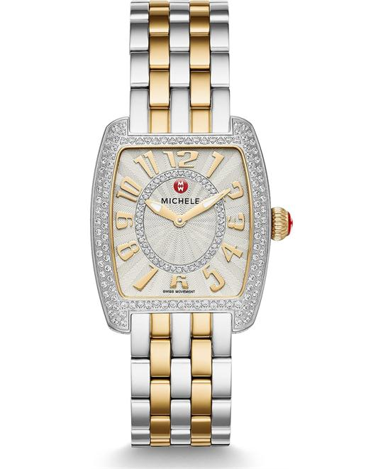 đồng hồ Michile Urban Mini Diamond Two-Tone Watch 29*30mm