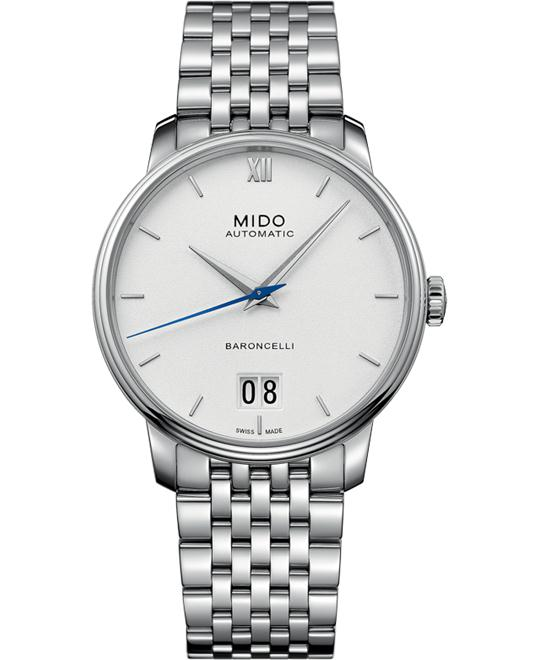 Mido Baroncelli Big Date M027.426.11.018.00 Watch 40mm