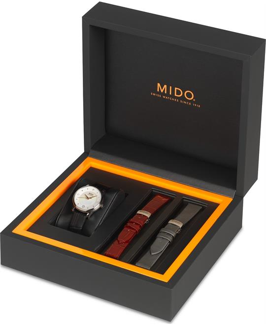 Mido Baroncelli II M039.207.16.106.00 Diamond Watch 27.9mm