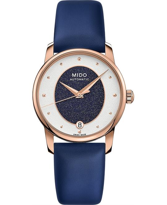 Mido Baroncelli M035.207.37.491.00 Swiss Watch 33mm