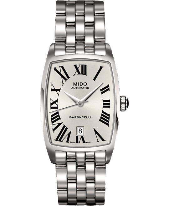 MIDO BARONCELLI TONNEAU M003.107.11.033.00 WATCH 23.5MM