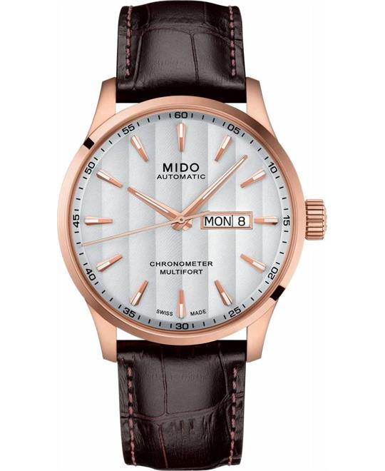 MIDO MULTIFORT M038.431.36.031.00 WATCH 42MM
