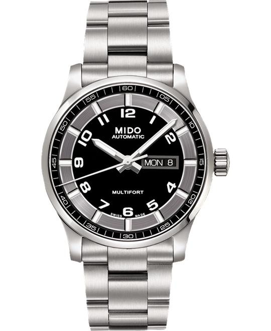 MIDO MULTIFORT II M005.430.11.052.80 WATCH 42MM