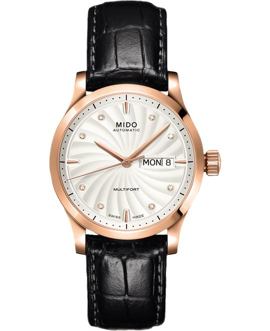 MIDO MULTIFORT M005.830.36.036.22 WATCH 38MM
