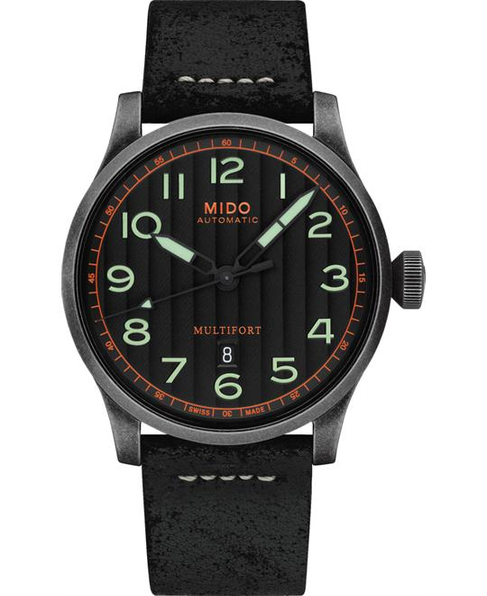 MIDO MULTIFORT M032.607.36.050.09 44MM