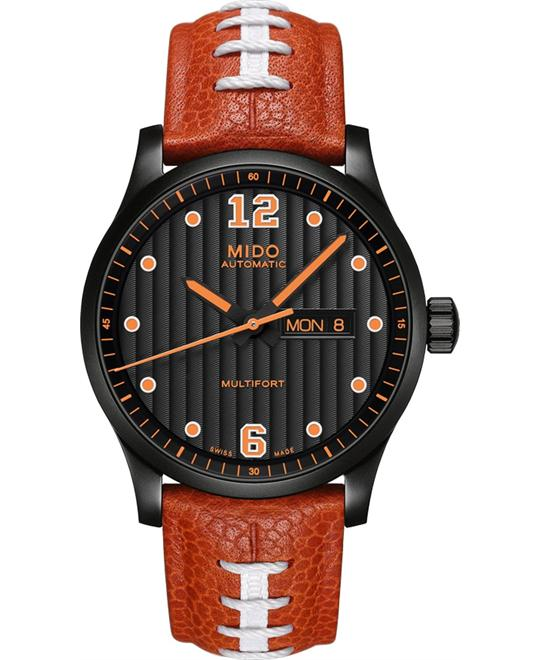 MIDO MULTIFORT TOUCHDOWN M005.430.36.050.80 WATCH 42MM