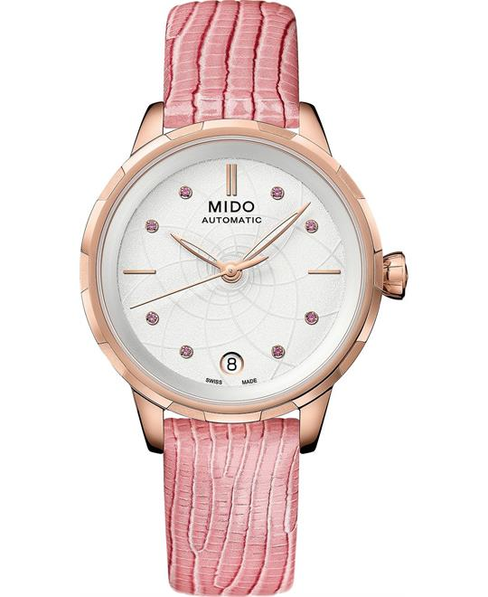 Mido Rainflower M043.207.36.011.00 Watch 34mm