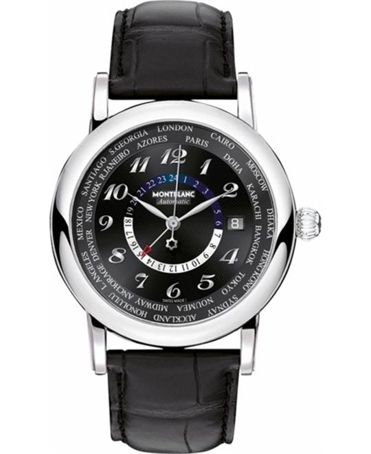 Montblanc 109285 Star World Time Watch 40mm