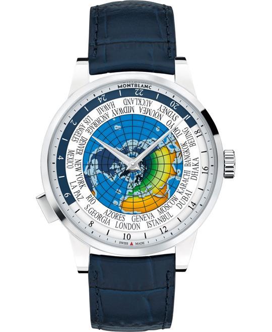 đồng hồ giờ thế giới Montblanc Heritage 116533 Spirit Orbis Terrarum Watch 41mm