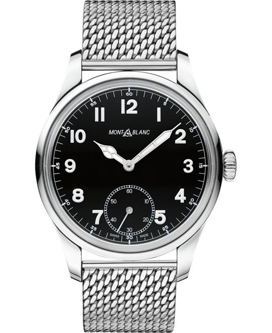 đồng hồ nam Montblanc 1858 112639 Manual Small Second Stainless Steel 47mm