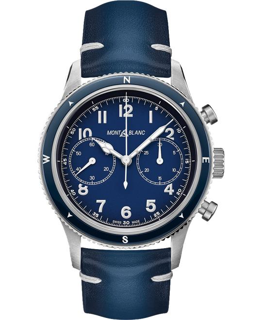 dong ho Montblanc 1858 126912 Chronograph Watch 42mm