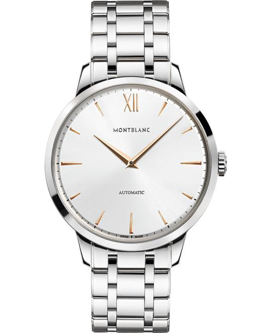 Montblanc Heritage Spirit Automatic Silver Dial 110696 41mm