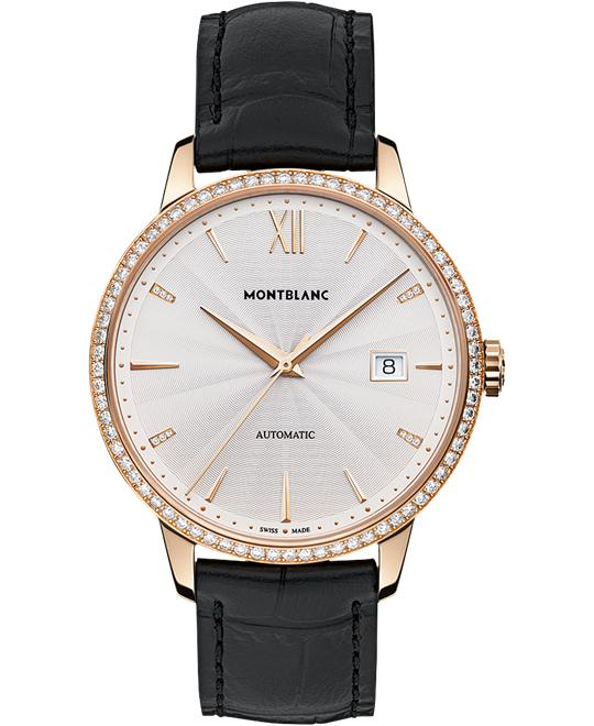 đồng hồ Montblanc Heritage Spirit Date Red Gold 113706 40mm