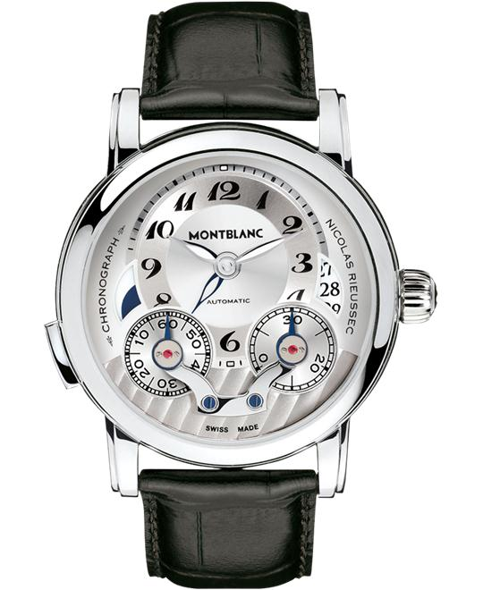 Montblanc Nicolas Rieussec 106595 Automatic Men's Watch 43mm