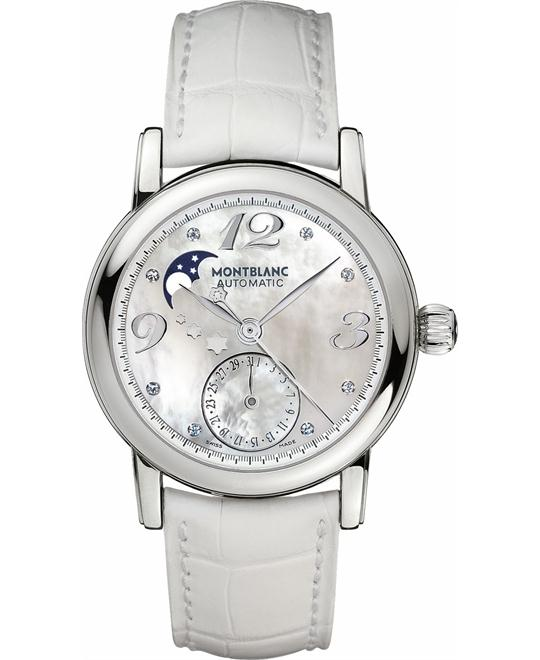 MONTBLANC STAR 103111 AUTOMATIC MOONPHASE WATCH 36