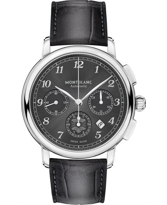 đồng hồ nam automatic chronograph 6 kim Montblanc Star Legacy 118515 Watch 42mm