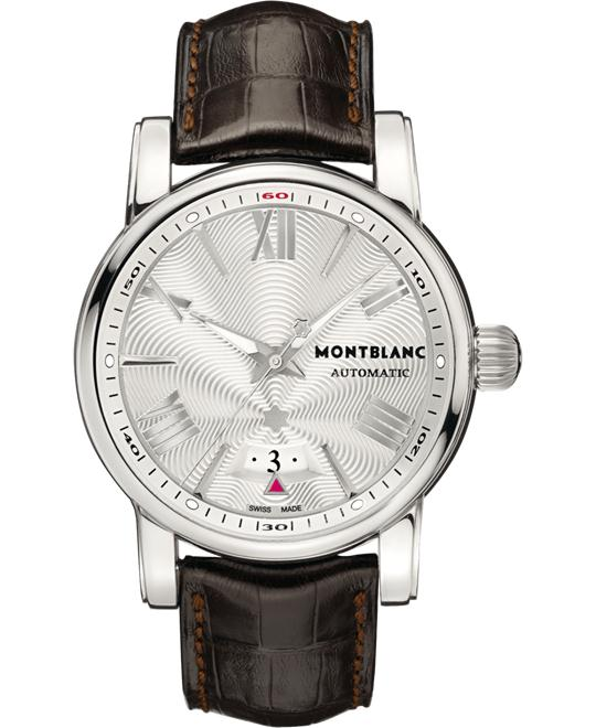 Montblanc Star 4810 102342 White Dial Automatic Alligator Strap 42mm