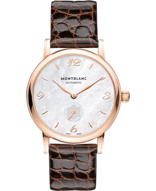 Montblanc Star Classique 107911 18K Red Gold Lady Automatic 37mm