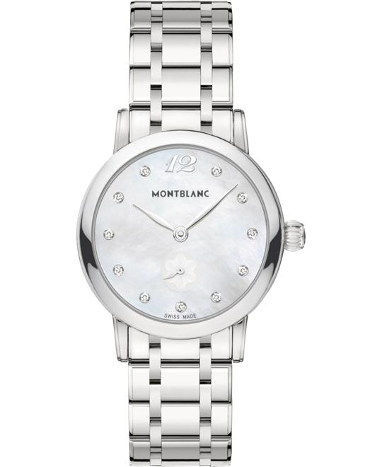 Montblanc Star Classique 110305 Quartz Ladies Watch 37mm