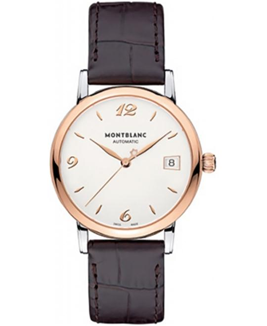 Montblanc Star Classique 111612 Automatic Brown Leather 34mm
