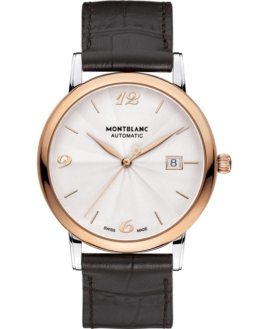 Montblanc Star Classique 113824 18K Red Gold Automatic 40mm