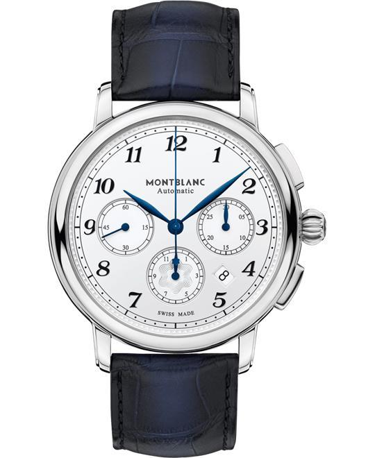 đồng hồ nam automatic chronograph 6 kim Montblanc Star Legacy 118514 Automatic 42mm