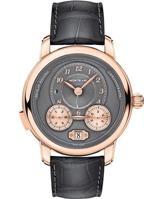 đồng hồ nam automatic Montblanc Star Legacy 119964 Nicolas Rieussec Chrono 44.8mm
