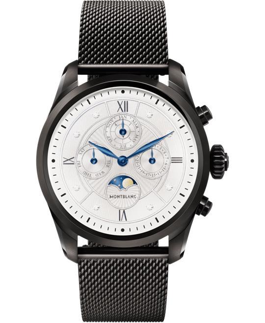 đồng hồ thông minh Montblanc Summit 2 119723 Black Milanese Edition 42mm