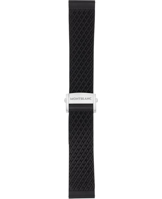 Montblanc Summit 2 Black Rubber 22mm