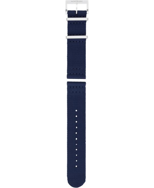Montblanc Summit 2 Blue Nylon Strap 22mm