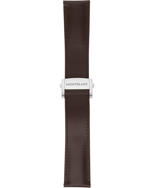 Montblanc Summit 2 Sapphire Brown Leather Strap 22mm