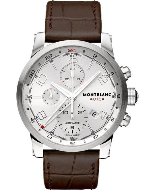 Montblanc Timewalker 107065 Automatic Alligator Leather 43mm