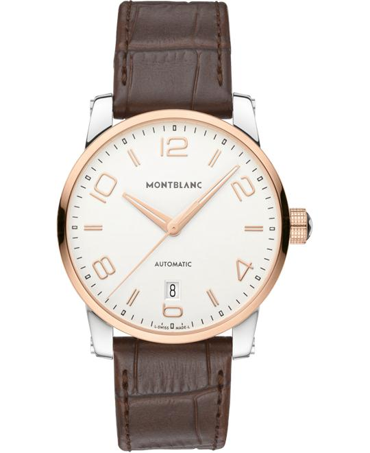 Montblanc TimeWalker 110330 Date Automatic Leather 39mm