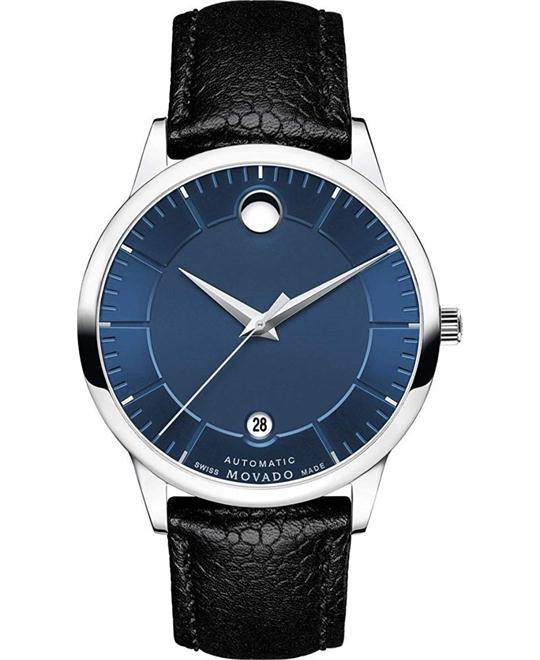 Movado 1881 Automatic Blue Watch 39.5mm