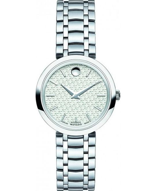 MOVADO 1881 Automatic Silver Ladies Watch 27mm